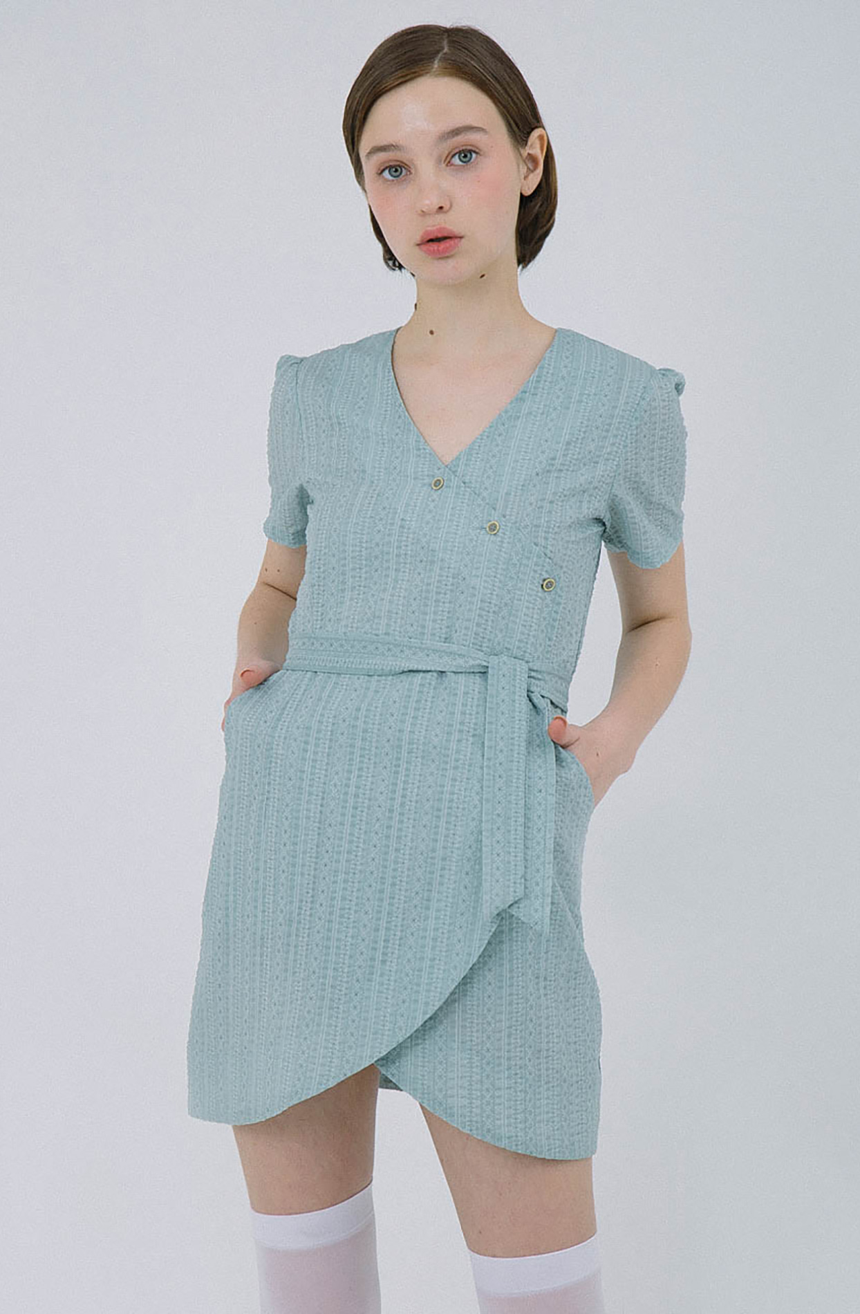 Terry Dress (mint)