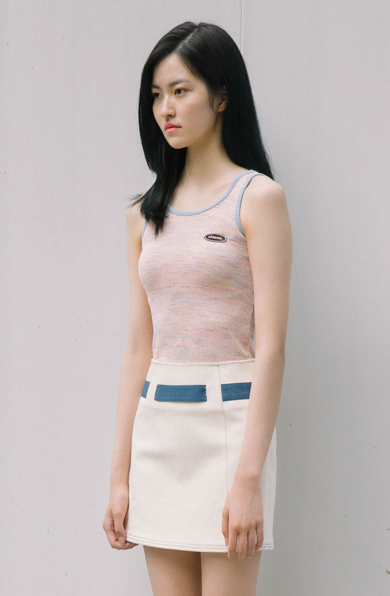 basic sleeveless (pink)