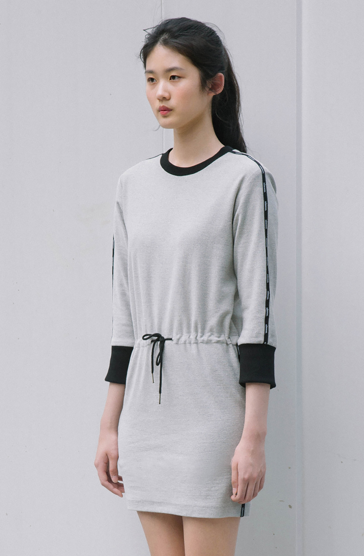 fanni dress (grey)