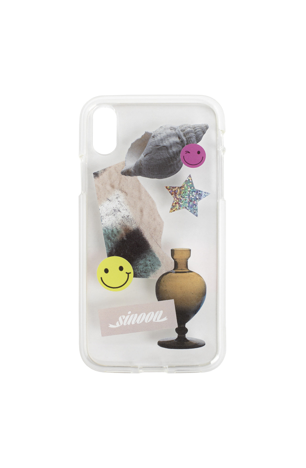 Collage jelly case (smile)