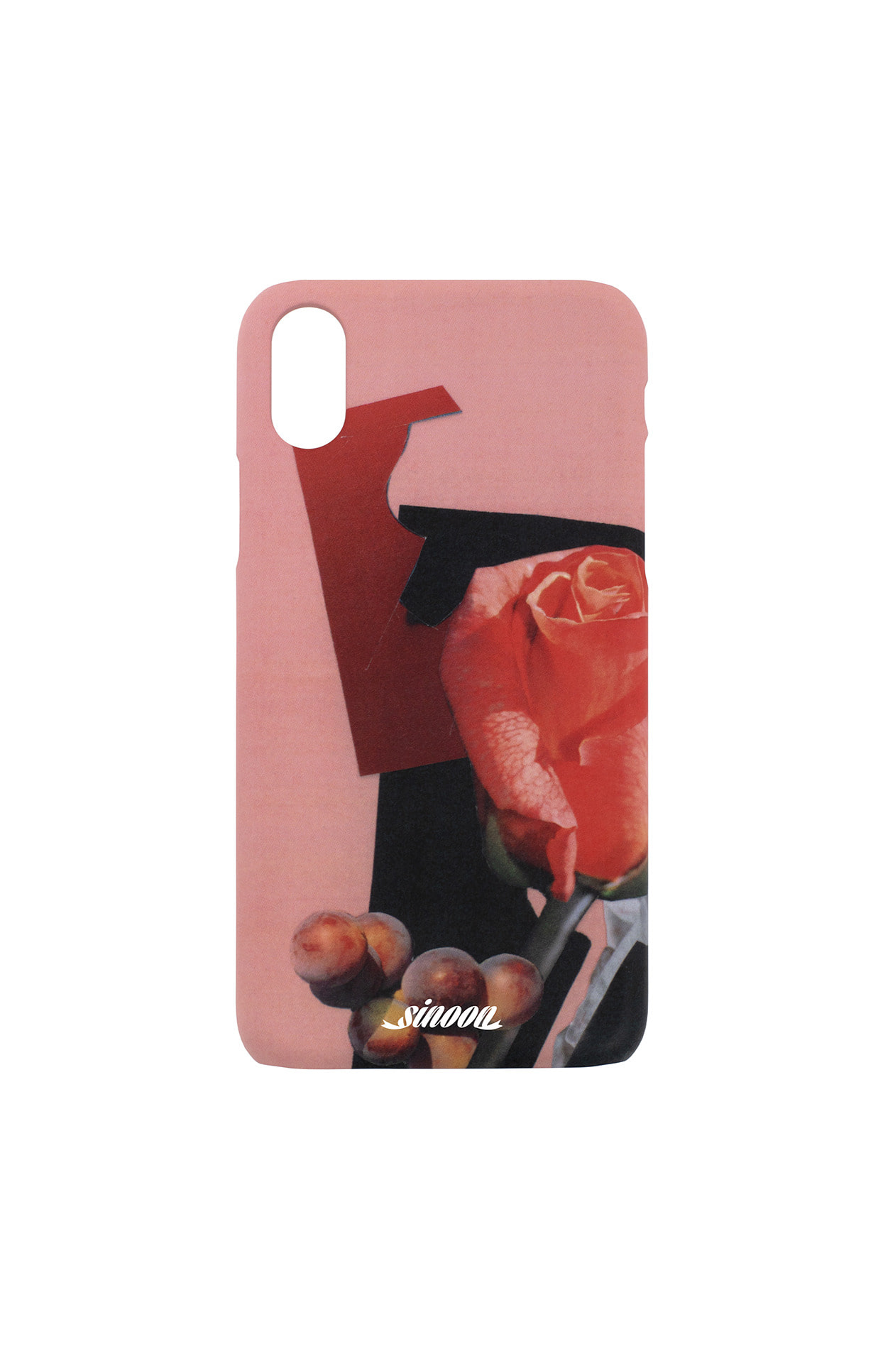 Collage hard case (roseberry)