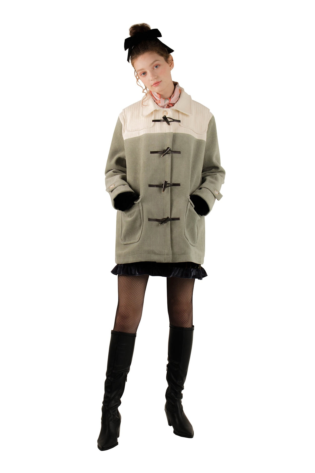 Dufflenoon coat (mint)