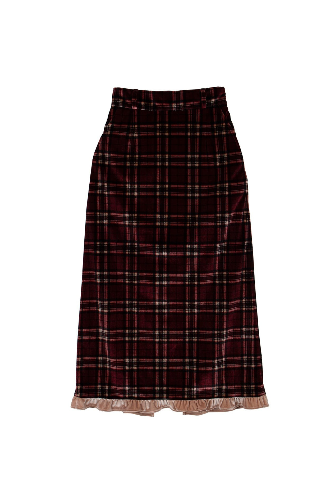 Carboncheck long skirt