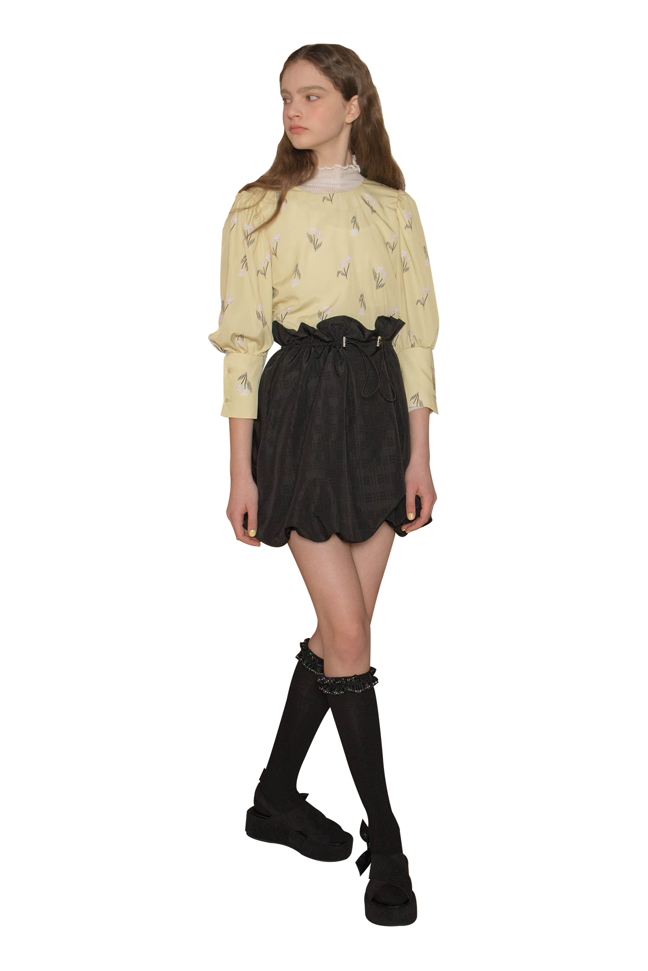 Leonone blouse (lemon)
