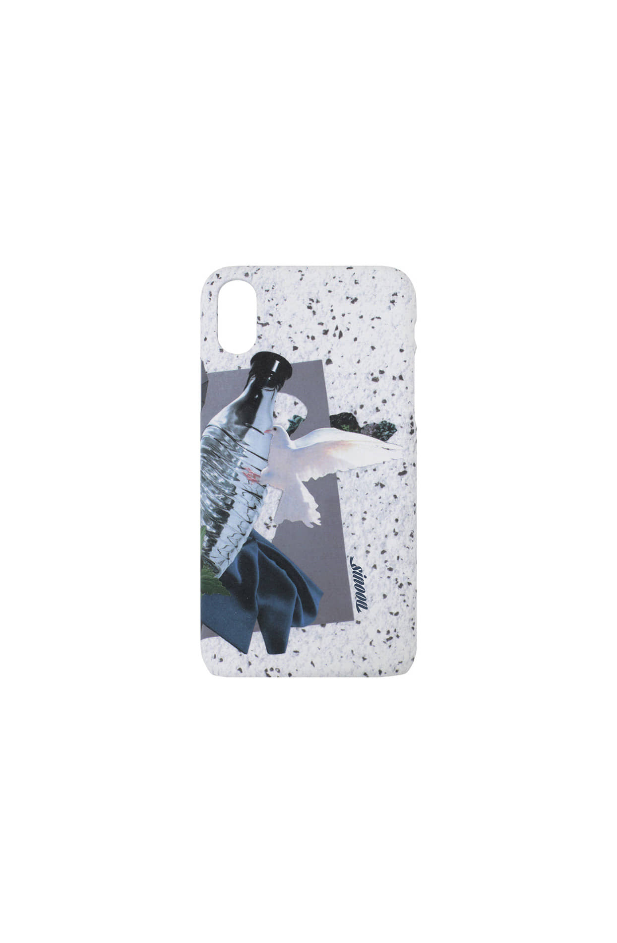 Collage hard case (bird)