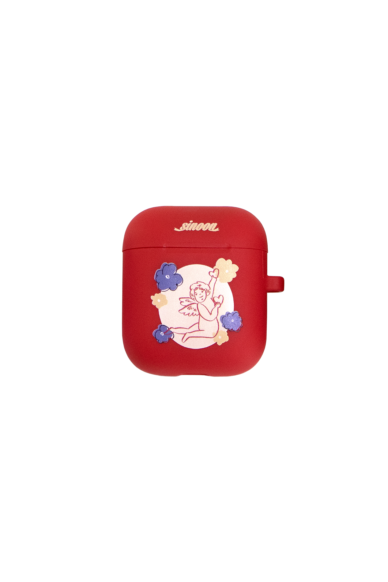 Air-pod case (cupid red)