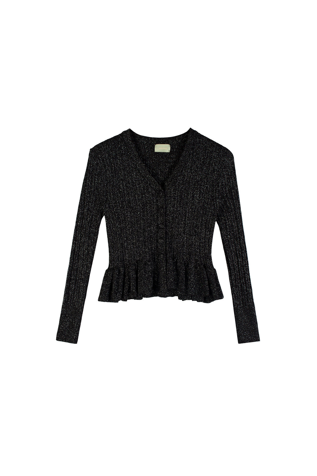 Peplum Cardigan (black)