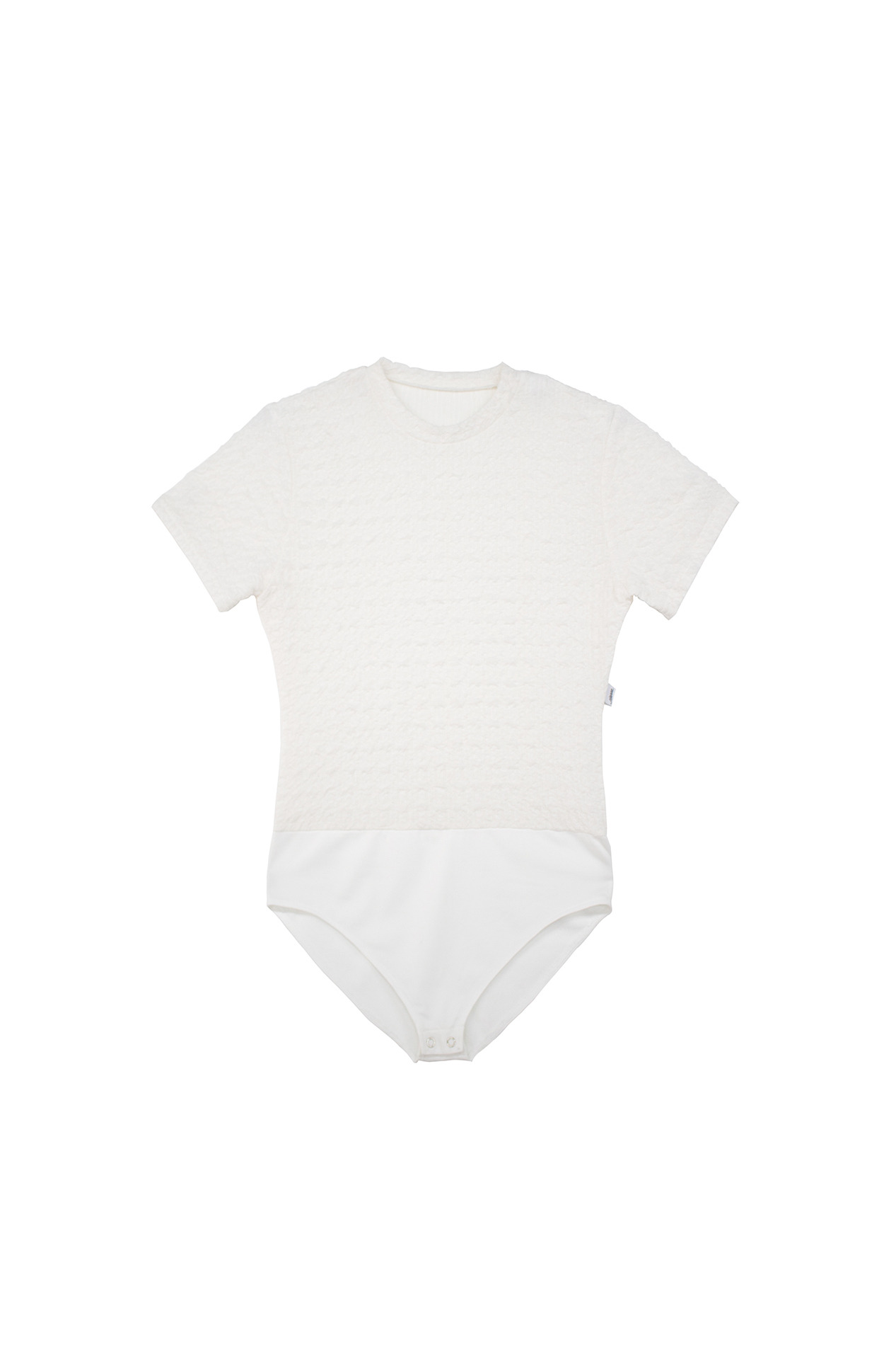 Textured Bodysuit (white)