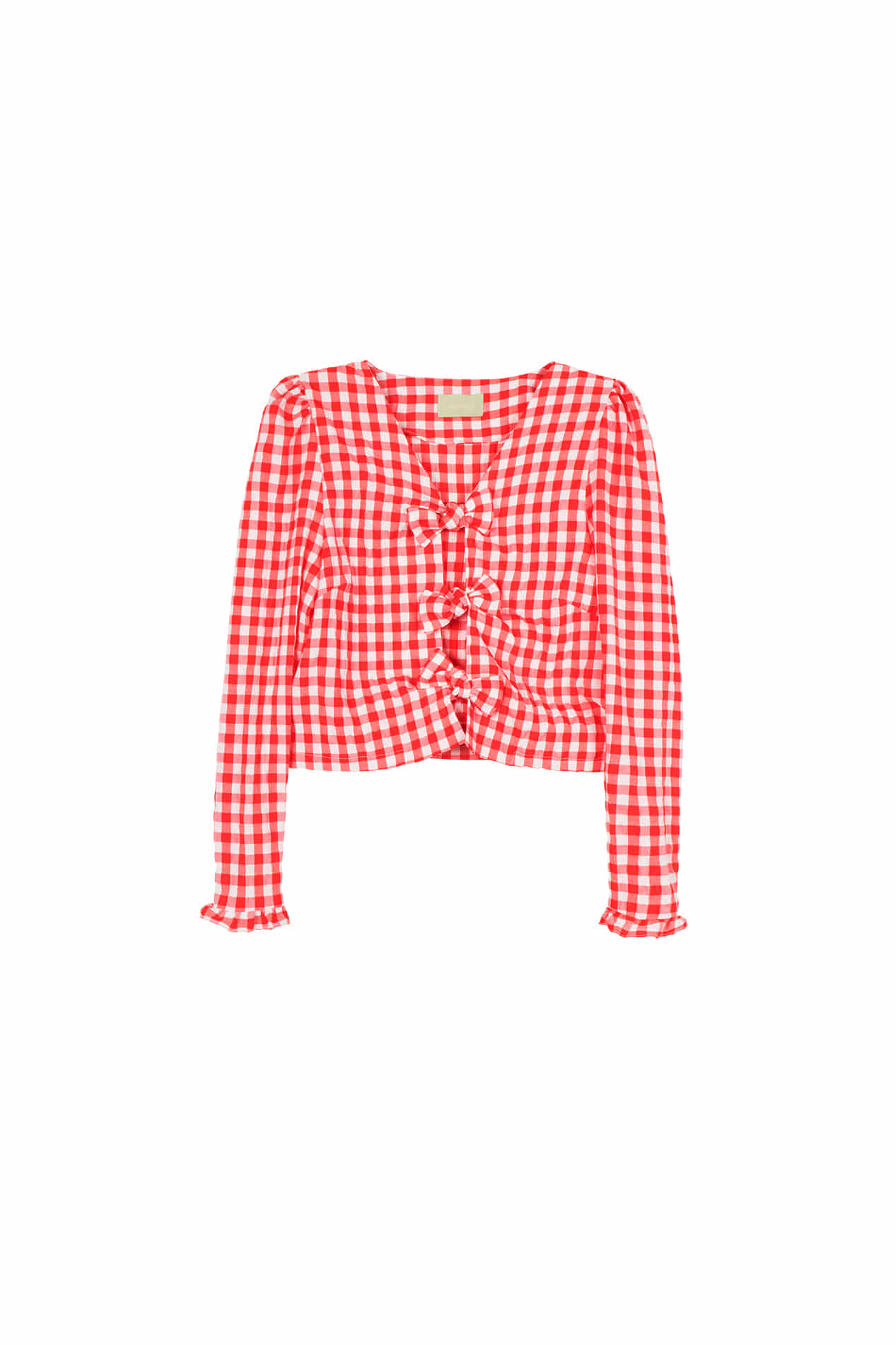 Quince Blouse (Poppy Red)