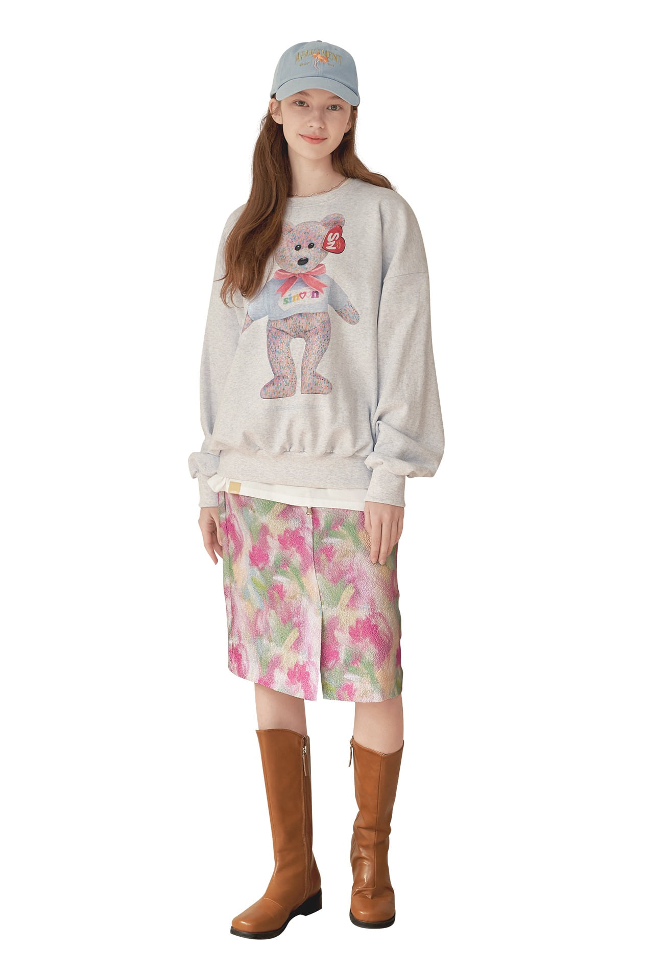BEAR PARODY SWEATSHIRT