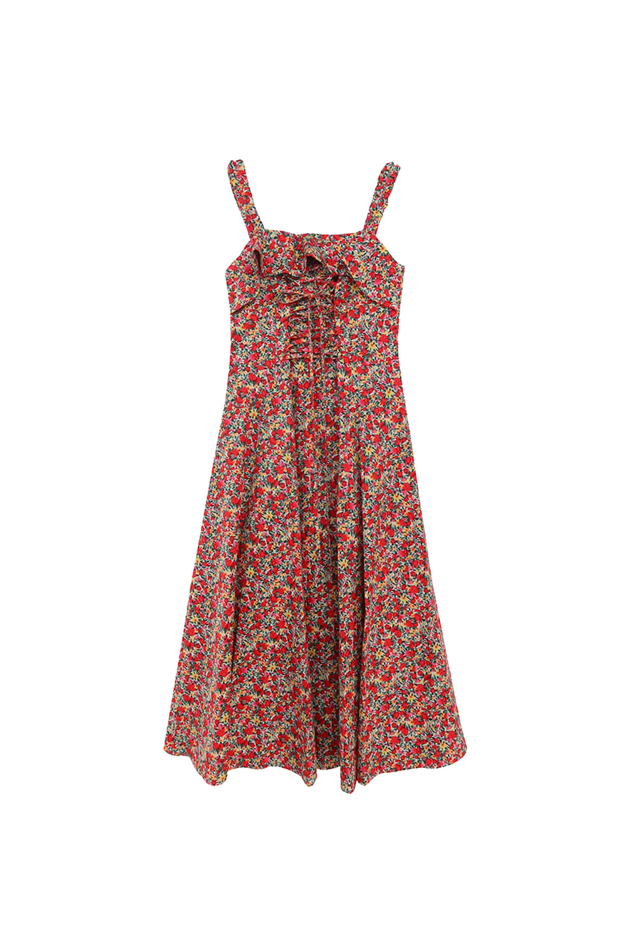 Poppy Dress (Poppy Red)